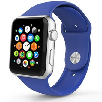 Apple Watch Band Series 1 Series 2, Soft Silicone Replacement Sports Band for 38mm Apple Watch 2015 & 2016 All Models - intl ...