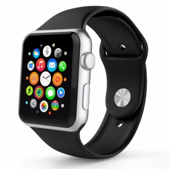 Apple Watch Band Series 1 Series 2,38mm Silicone Apple iWatch SmartWatch Sport Band Quick Release Bracelet Strap Wristband ReplacementWatchband - intl Price Philippines
