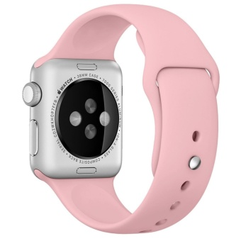 Apple Watch Band Series 1 Series 2,42mm Silicone Apple iWatch Smart Watch Sport Band Quick Release Bracelet Strap Wristband Replacement Watchband - intl - 2