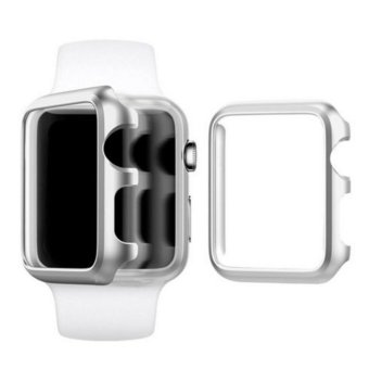 Apple Watch Series 2 Case 38mm,Full Cover Apple Watch Series 2/NikeCase Slim Hard PC Plated Protective Bumper Cover & 0.2mmShockproof Sheld Guard Screen Protector for iWatch 2016 - intl - 3