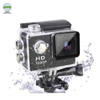 APPO A7 Ultra HD 1080P Waterproof Sports Action Camera (Black)