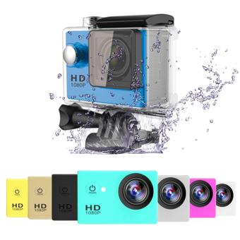 APPO A7 Ultra HD 1080P Waterproof Sports Action Camera (Blue) - 2