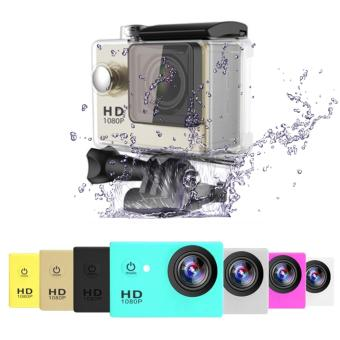 APPO A7 Ultra HD 1080P Waterproof Sports Action Camera (Gold) - 2