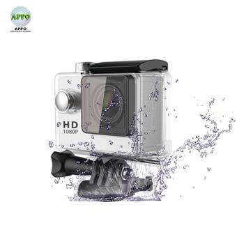 APPO A7 Ultra HD 1080P Waterproof Sports Action Camera (Silver)