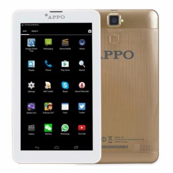 APPO A8 Wi-Fi + Dual Sim Cellular Upgraded HD Screen 512MB RAM 8GB ROM Tablet (Gold)
