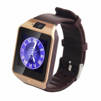 APPO M9 Bluetooth Phone Quad Smart Watch Touchscreen with Camera(Gold) - 2