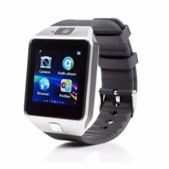 APPO M9 Bluetooth Phone Quad Smart Watch Touchscreen with Camera(Silver) - 2