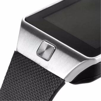 APPO M9 Bluetooth Phone Quad Smart Watch Touchscreen with Camera(Silver) - 4