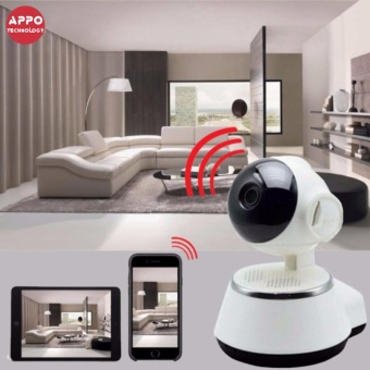 APPO V380s Home Wireless Smart Security Surveillance IP Camera (White)