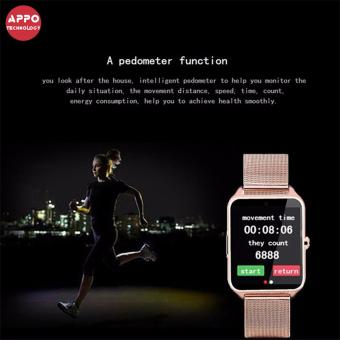 APPO Z60 Bluetooth Smart Watch Phone With SIM and TFSlotsCard(Silver) - 5