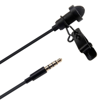 Aputure A.lav ez Broadcast Quality Omnidirectional Lavalier Condenser Microphone with Wind Shield Windscreen for Mobile Phone / DSLR & DV Camcorder