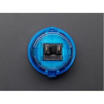 Arcade Button 30mm Translucent Blue - 2