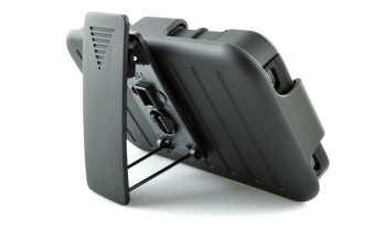 Armor 3 in 1 Phone Case Built-in Stand and Belt Clip Back Cover for Apple iPhone 4 / 4s