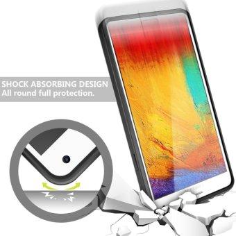 Armor Cases for Samsung Galaxy Note 4 Credit card slot WalletShockproof - intl - 3