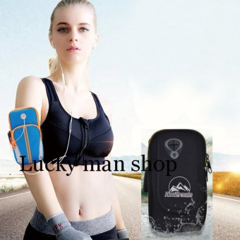AS SEEN ON TV Arm Pouch Bag Sport Running Jogging for Mobile PhonesBLACK