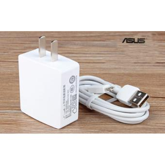 Asus-1A Fast Charger For Smart Phone Whit USB (White)