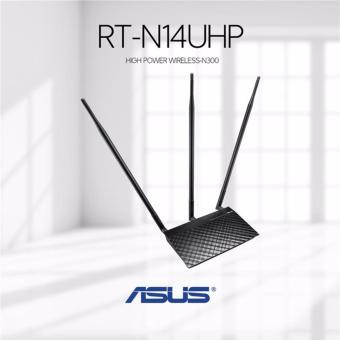ASUS RT-N14UHP 9DBI X 3 300MBPS DL ROUTER