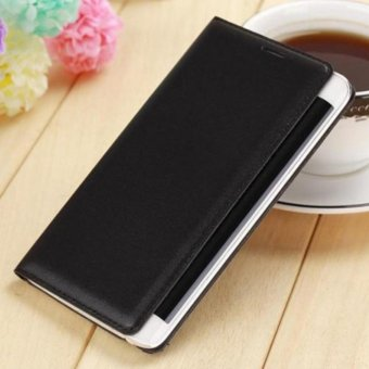 Asuwish Slim Shell Battery Housing Leather Case Flip Cover OriginalWallet Holster For Samsung Galaxy Note Edge N9150