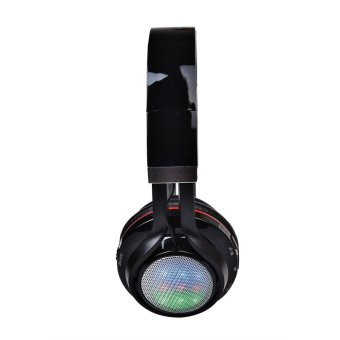 AT-BT816 Foldable Bluetooth Headphones with Mi (Black) - Intl - picture 2