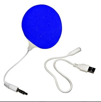 Audio Jack Speaker with Cable Speaker (Blue)