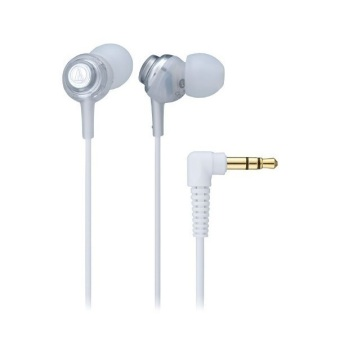 Audio Technica ATH-CKL202 In-Ear Headphone (White)