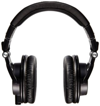Audio-Technica ATH-M50x Professional Studio Monitor Headphones(Black)