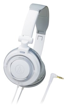 Audio Technica ATH-SJ55 Over-the-Ear Headphone White