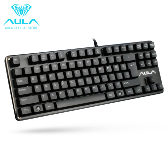 AULA OFFICIAL F2012 Mechanical Gaming Keyboard USB WiredKeyboard(Black) Price Philippines