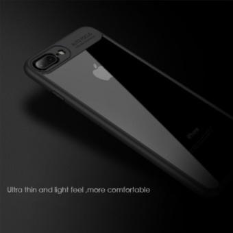 Auto Focus Tranparent Case for iPhone 6 Plus (Black) - 2