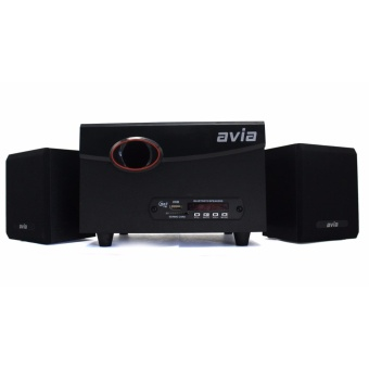 Avia AHOS-0629 2.1 Multimedia Speaker 3D Sound Surrounded System(Black)