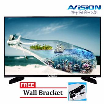 "Avision 32"" Digital LED HD TV Black 32K786D with Free Wall Bracket"