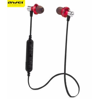 Awei A860BL Wireless Bluetooth Sport Earbuds with Mic On-cordControl Noise Cancelling Price Philippines
