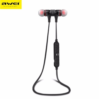 Awei A920BL Wireless Bluetooth 4.0 Sport Exercise Stereo Earbuds Built-in Microphone Earphone Headset