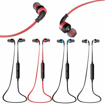 AWEI A960BL Noise Cancelling Bluetooth In-Ear Headphone Earphonewith Mic(Black) - 5