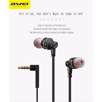 Awei Awei ES-10ty Stereo Wired In Ear Headphones In-Ear Earphone - 4