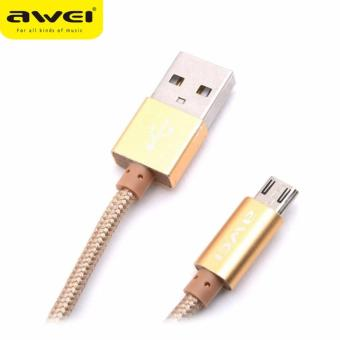 Awei Cl-400 1m Micro USB Cable for Smartphones