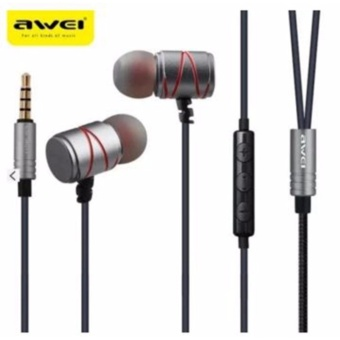 Awei ES-910TY The Ultimate Portable Hi-Fi Earphones (Black)