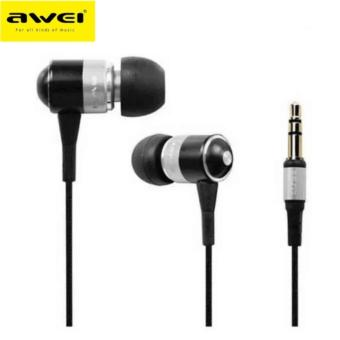 Awei ES-Q3 In-Ear Earphone Noise Isolation(Sliver)