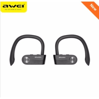 AWEI T2 Wireless Bluetooth Earphone TWS Stereo Headset IPX4Waterproof