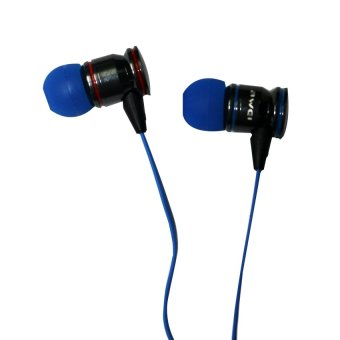 Awei TE200vi Extra Bass Power Earphones (Red/Blue) - picture 1
