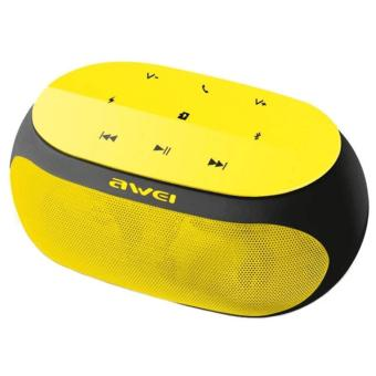 Awei Y200 Hi-Fi Wireless Portable Bluetooth Speaker with TF/AUXSlot (Yellow)