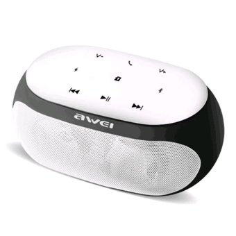 Awei Y200 HiFi Wireless Portable Bluetooth Speaker with TF/AUX Slot (White) Price Philippines