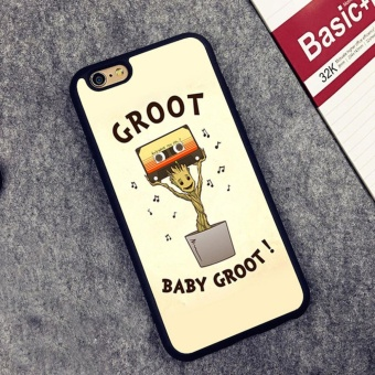 Baby Groot Guardians of the Galaxys Printed 01 phone case foriPhone 7 Plus - intl Price Philippines