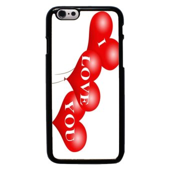 Balloon Pattern Phone Case For iPhone 6/6s (Black)
