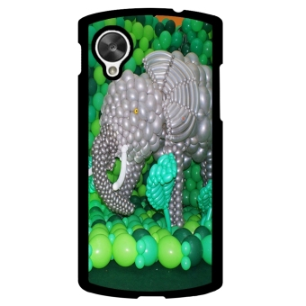 Balloon Pattern Phone Case for LG Nexus 5 (Black) - picture 2