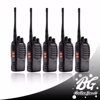 BaoFeng-888S UHF FM Transceiver Walkie Talkie Two-Way Radio set of 5