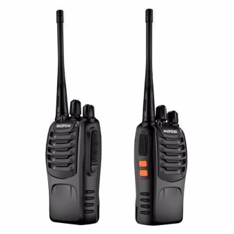 BaoFeng BF-888S VHF UHF FM Transceiver Walkie Talkie Two-Way Radioset of 2
