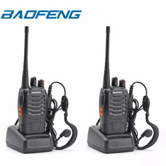 Baofeng BF-888s VHF/UHF FM Transceiver Portable Walkie Talkie Two-Way Radio Set of 2