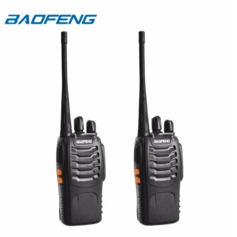 Baofeng BF-888S VHF/UHF FM TRANSCEIVER Portable Walkie-Talkie Two-Way Radio Set of 2