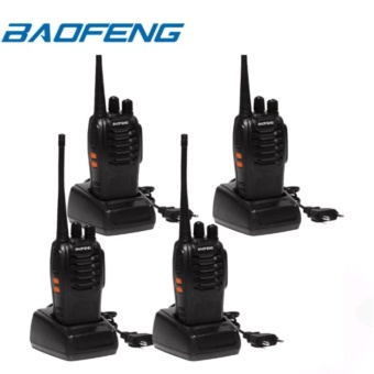 Baofeng BF-888S VHF/UHF FM TRANSCEIVER Portable Walkie-TalkieTwo-Way Radio Set of 4